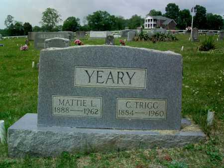YEARY, C.TRIGG - Lee County, Virginia | C.TRIGG YEARY - Virginia Gravestone Photos