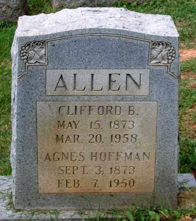 HOFFMAN ALLEN, AGNES - Loudoun County, Virginia | AGNES HOFFMAN ALLEN - Virginia Gravestone Photos