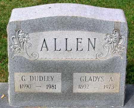 ALLEN, G. DUDLEY - Loudoun County, Virginia | G. DUDLEY ALLEN - Virginia Gravestone Photos