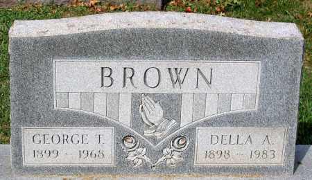 BROWN, GEORGE T. - Loudoun County, Virginia | GEORGE T. BROWN - Virginia Gravestone Photos