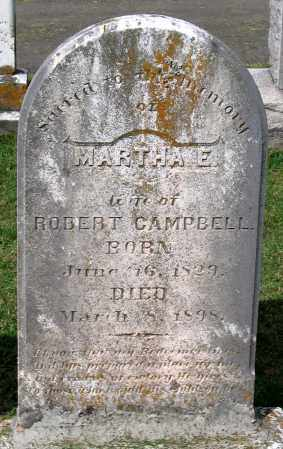 CAMPBELL, MARTHA E. - Loudoun County, Virginia | MARTHA E. CAMPBELL - Virginia Gravestone Photos