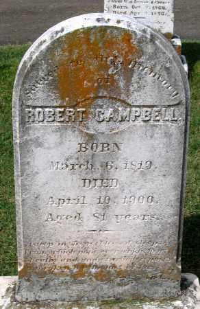 CAMPBELL, ROBERT - Loudoun County, Virginia   ROBERT CAMPBELL - Virginia Gravestone Photos