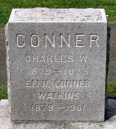 CONNER, CHARLES W. - Loudoun County, Virginia | CHARLES W. CONNER - Virginia Gravestone Photos