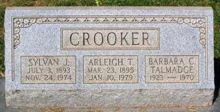 TAYLOR CROOKER, ARLEIGH - Loudoun County, Virginia | ARLEIGH TAYLOR CROOKER - Virginia Gravestone Photos