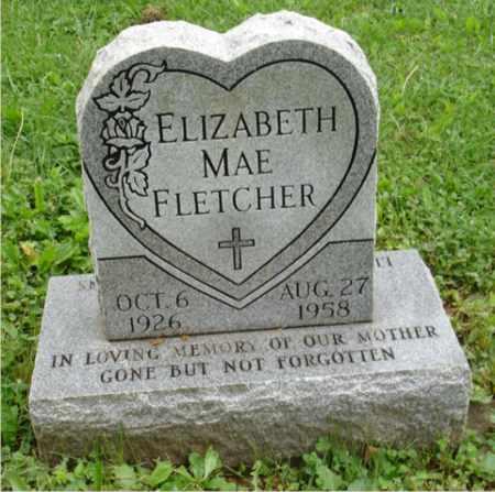 FLYNN FLETCHER, ELIZABETH MAE - Loudoun County, Virginia | ELIZABETH MAE FLYNN FLETCHER - Virginia Gravestone Photos