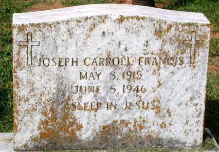 FRANCIS, JOSEPH CARROLL - Loudoun County, Virginia | JOSEPH CARROLL FRANCIS - Virginia Gravestone Photos
