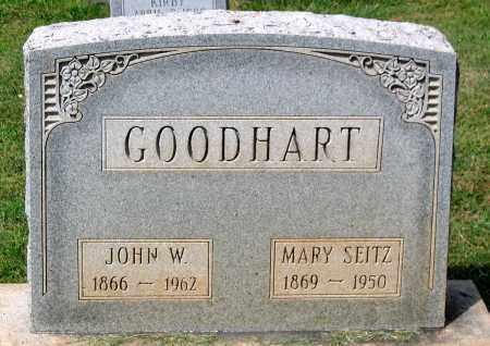 SEITZ GOODHART, MARY - Loudoun County, Virginia | MARY SEITZ GOODHART - Virginia Gravestone Photos