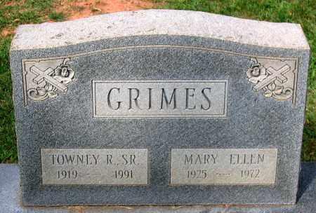 GRIMES, MARY ELLEN - Loudoun County, Virginia   MARY ELLEN GRIMES - Virginia Gravestone Photos