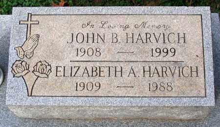 HARVICH, JOHN B. - Loudoun County, Virginia | JOHN B. HARVICH - Virginia Gravestone Photos
