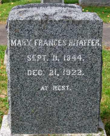 HITAFFER, MARY FRANCES - Loudoun County, Virginia | MARY FRANCES HITAFFER - Virginia Gravestone Photos