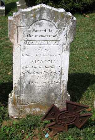 JACKSON, BENJAMIN E. - Loudoun County, Virginia   BENJAMIN E. JACKSON - Virginia Gravestone Photos