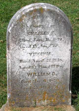 JACKSON, WILLIAM D. - Loudoun County, Virginia | WILLIAM D. JACKSON - Virginia Gravestone Photos