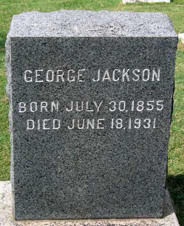 JACKSON, GEORGE - Loudoun County, Virginia   GEORGE JACKSON - Virginia Gravestone Photos