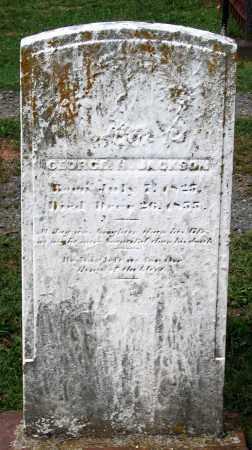 JACKSON, GEORGE R. - Loudoun County, Virginia | GEORGE R. JACKSON - Virginia Gravestone Photos
