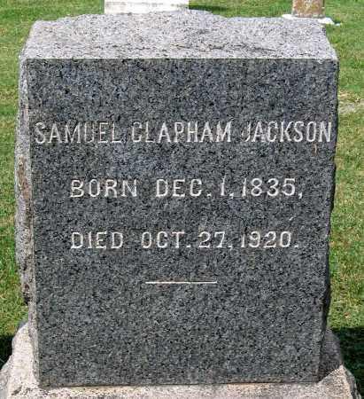 JACKSON, SAMUEL CLAPHAM - Loudoun County, Virginia | SAMUEL CLAPHAM JACKSON - Virginia Gravestone Photos