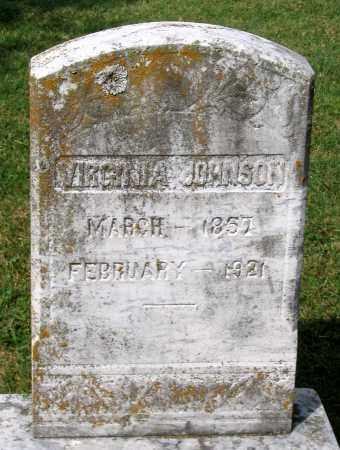 JOHNSON, VIRGINIA - Loudoun County, Virginia | VIRGINIA JOHNSON - Virginia Gravestone Photos