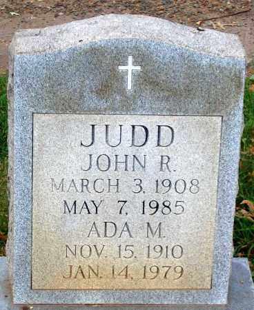 JUDD, ADA M. - Loudoun County, Virginia | ADA M. JUDD - Virginia Gravestone Photos