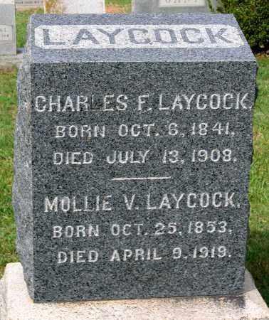 LAYCOCK, CHARLES F. - Loudoun County, Virginia | CHARLES F. LAYCOCK - Virginia Gravestone Photos