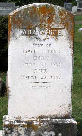 LONG, ADA - Loudoun County, Virginia | ADA LONG - Virginia Gravestone Photos