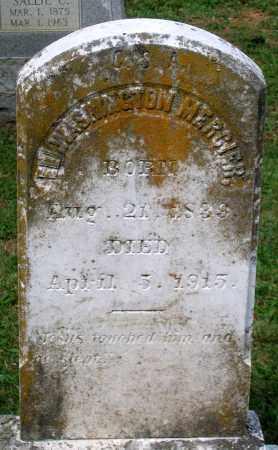 MERCIER, ELI WASHINGTON - Loudoun County, Virginia   ELI WASHINGTON MERCIER - Virginia Gravestone Photos