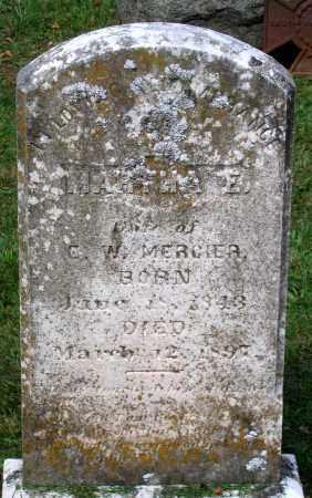 MERCIER, MARTHA E. - Loudoun County, Virginia | MARTHA E. MERCIER - Virginia Gravestone Photos
