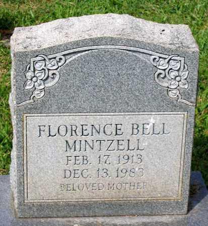 BELL MINTZELL, FLORENCE - Loudoun County, Virginia | FLORENCE BELL MINTZELL - Virginia Gravestone Photos