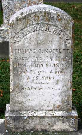 MOFFETT, VYLINDIA H. - Loudoun County, Virginia | VYLINDIA H. MOFFETT - Virginia Gravestone Photos