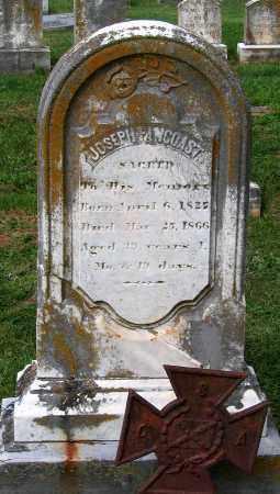 PANCOAST, JOSEPH - Loudoun County, Virginia | JOSEPH PANCOAST - Virginia Gravestone Photos