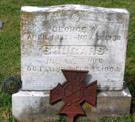 SHUGARS, GEORGE W. - Loudoun County, Virginia   GEORGE W. SHUGARS - Virginia Gravestone Photos