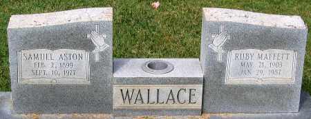 MAFFETT WALLACE, RUBY - Loudoun County, Virginia | RUBY MAFFETT WALLACE - Virginia Gravestone Photos