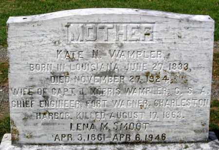 SMOOT, LENA M. - Loudoun County, Virginia | LENA M. SMOOT - Virginia Gravestone Photos
