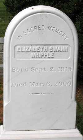 WHIPPLE, ELIZABETH - Loudoun County, Virginia | ELIZABETH WHIPPLE - Virginia Gravestone Photos