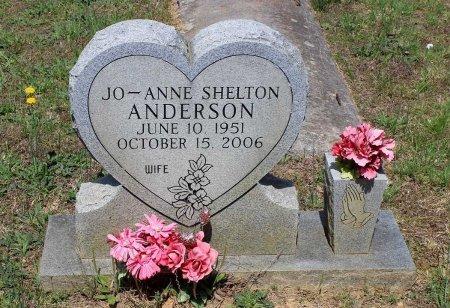 SHELTON ANDERSON, JO-ANNE - Louisa County, Virginia | JO-ANNE SHELTON ANDERSON - Virginia Gravestone Photos