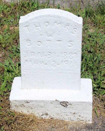 BOTTS, THOMAS W. - Louisa County, Virginia | THOMAS W. BOTTS - Virginia Gravestone Photos