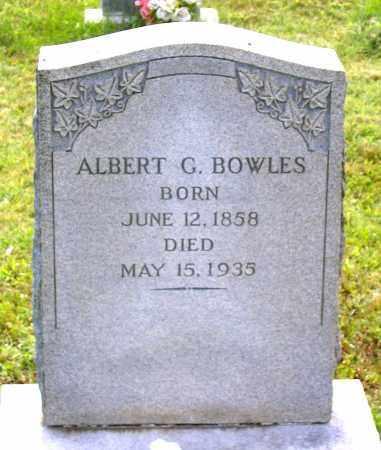 BOWLES, ALBERT G. - Louisa County, Virginia   ALBERT G. BOWLES - Virginia Gravestone Photos