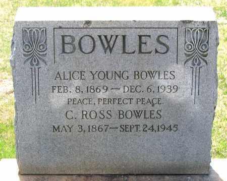 BOWLES, ALICE - Louisa County, Virginia   ALICE BOWLES - Virginia Gravestone Photos