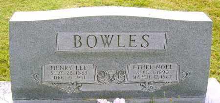 BOWLES, HENRY LEE - Louisa County, Virginia | HENRY LEE BOWLES - Virginia Gravestone Photos