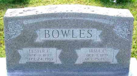 BOWLES, LESTER C. - Louisa County, Virginia   LESTER C. BOWLES - Virginia Gravestone Photos