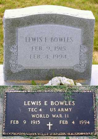 BOWLES, LEWIS E. - Louisa County, Virginia | LEWIS E. BOWLES - Virginia Gravestone Photos