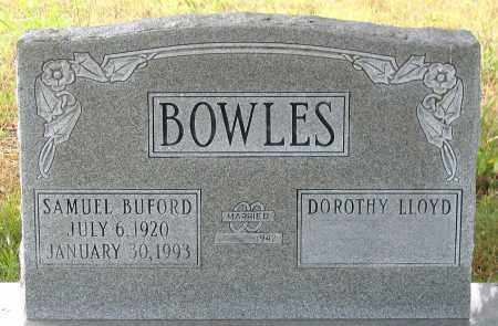 BOWLES, SAMUEL BUFORD - Louisa County, Virginia | SAMUEL BUFORD BOWLES - Virginia Gravestone Photos