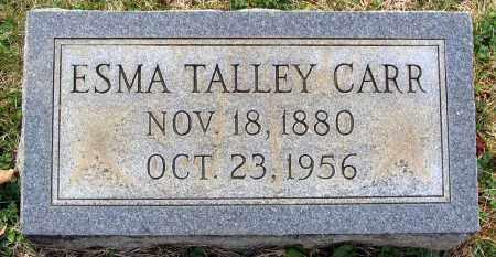 CARR, ESMA - Louisa County, Virginia | ESMA CARR - Virginia Gravestone Photos
