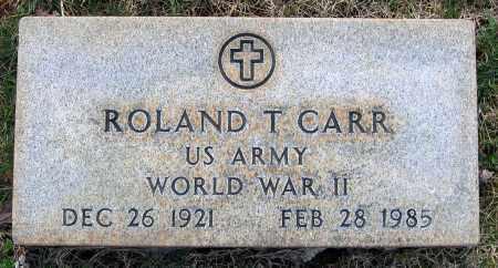 CARR, ROLAND T. - Louisa County, Virginia | ROLAND T. CARR - Virginia Gravestone Photos