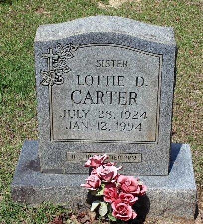 CARTER, LOTTIE D. - Louisa County, Virginia   LOTTIE D. CARTER - Virginia Gravestone Photos