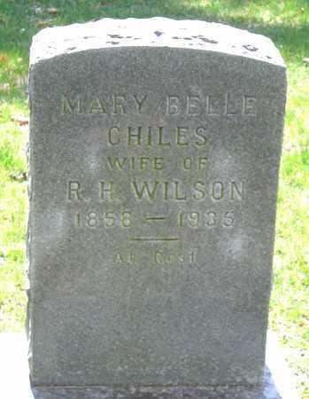CHILES, MARY BELLE - Louisa County, Virginia | MARY BELLE CHILES - Virginia Gravestone Photos