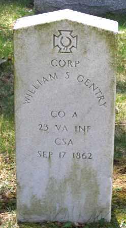 GENTRY, WILLIAM S. - Louisa County, Virginia | WILLIAM S. GENTRY - Virginia Gravestone Photos