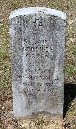GREEN, STUART BERNICE - Louisa County, Virginia   STUART BERNICE GREEN - Virginia Gravestone Photos