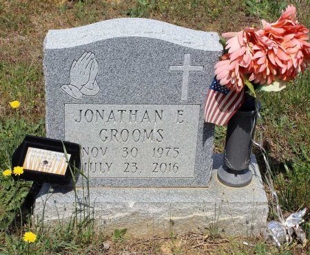 GROOMS, JONATHAN E. - Louisa County, Virginia | JONATHAN E. GROOMS - Virginia Gravestone Photos