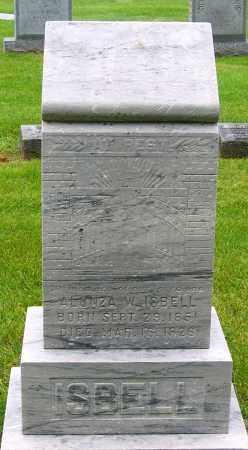 ISBELL, ALONZA W. - Louisa County, Virginia | ALONZA W. ISBELL - Virginia Gravestone Photos