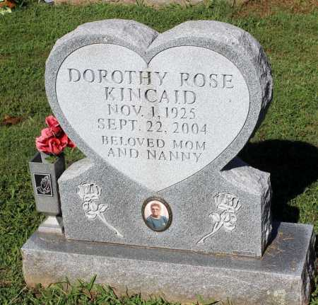 KINCAID, DOROTHY ROSE - Louisa County, Virginia | DOROTHY ROSE KINCAID - Virginia Gravestone Photos
