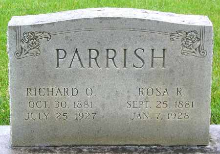 PARRISH, RICHARD O. - Louisa County, Virginia   RICHARD O. PARRISH - Virginia Gravestone Photos